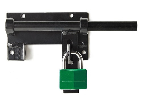 Lockable Bar Gate Latch